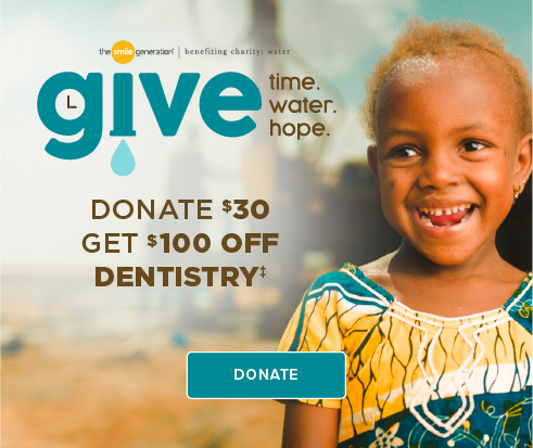 Donate $30, Get $100 Off Dentistry - Meadows Dental Group